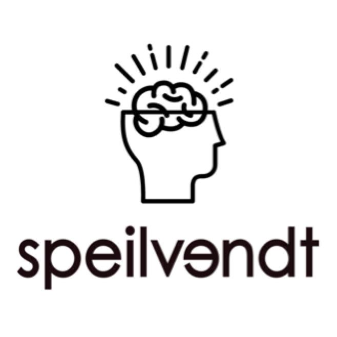 Speilvendt-logo